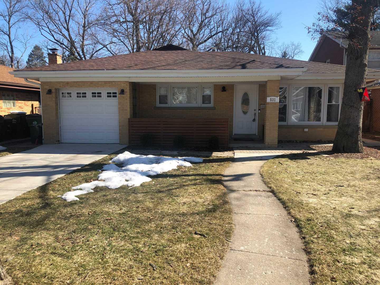 house for sale at 531 Park Plaine Avenue Park Ridge